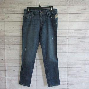 NWT - ANN TAYLOR LOFT Distressed jeans - sz 4/27